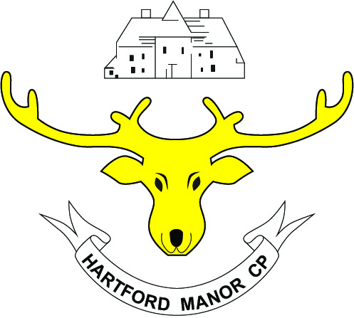 Description: hartford_manor_logo_moose_yellow